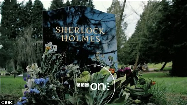 Double bluff: Viewers are lead to believe Sherlock is dead at the beginning of the trailer