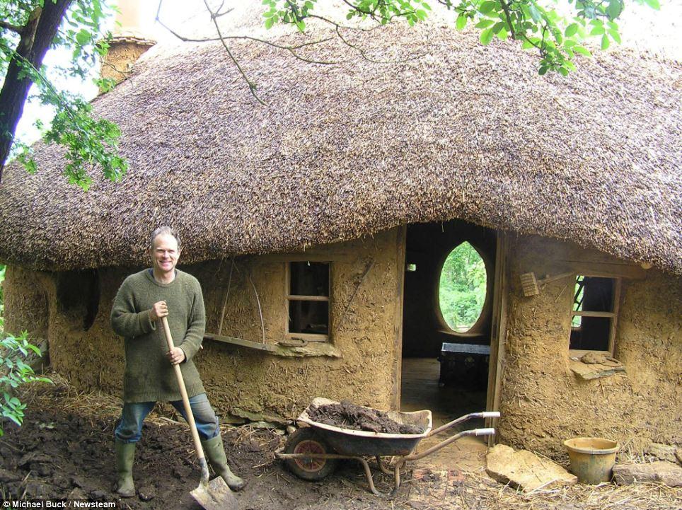 The $150 Handmade Hobbit House