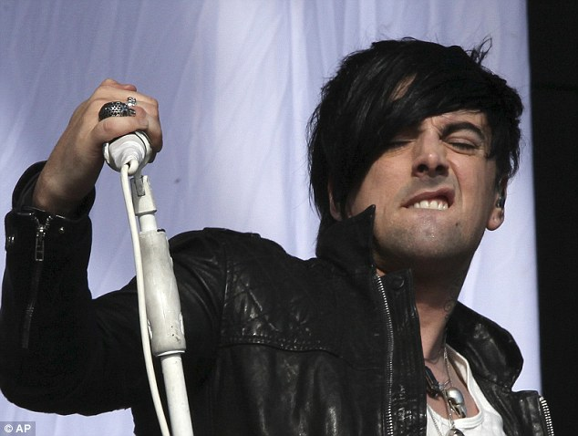 Disgraced: Ian Watkins sold millions of records as lead singer of Lostprophets but his crimes have shocked the band and his fans