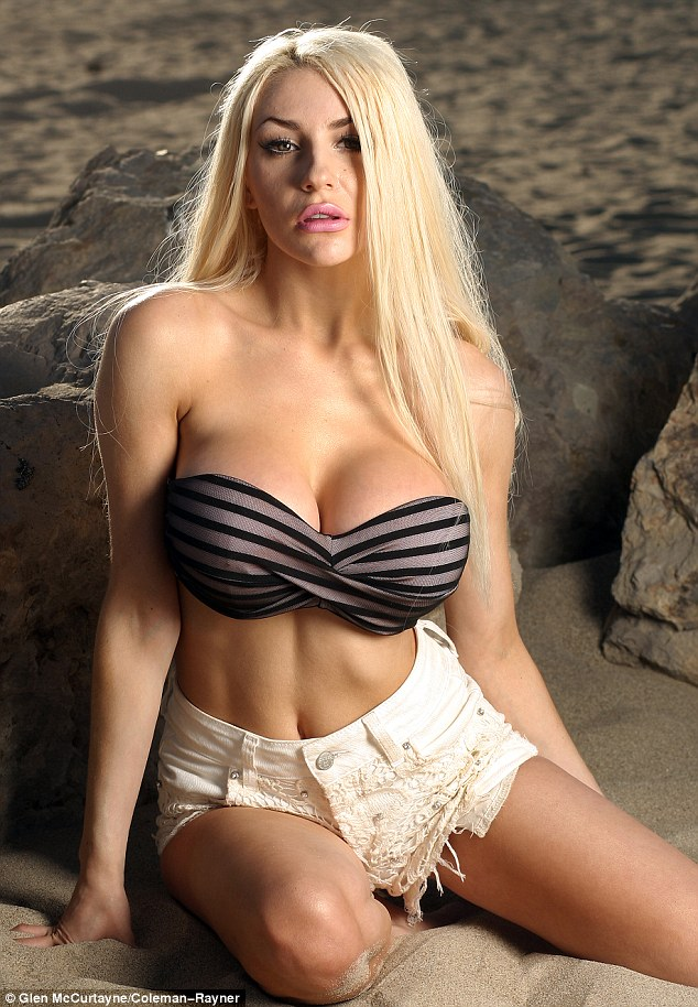 Opening up: Courtney Stodden has opened up about her failed marriage to husband Doug Hutchison