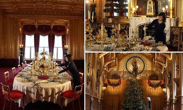 Windsor Castle Gets A Royal Victorian Christmas Makeover