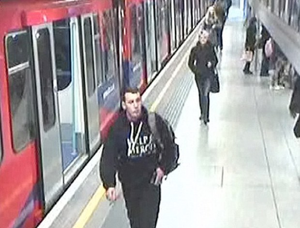 Last seen: Drummer Rigby was seen here getting off a DLR train at Woolwich Arsenal Station, just before he died on May 22