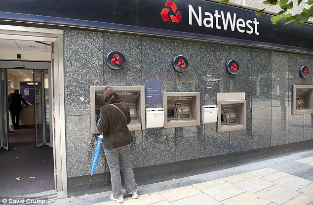 NatWest And RBS Cyber Monday Computer Meltdown EMPTIES