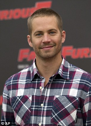 Tragedy: Fast and the Furious star Paul Walker died in a car crash on Saturday in California