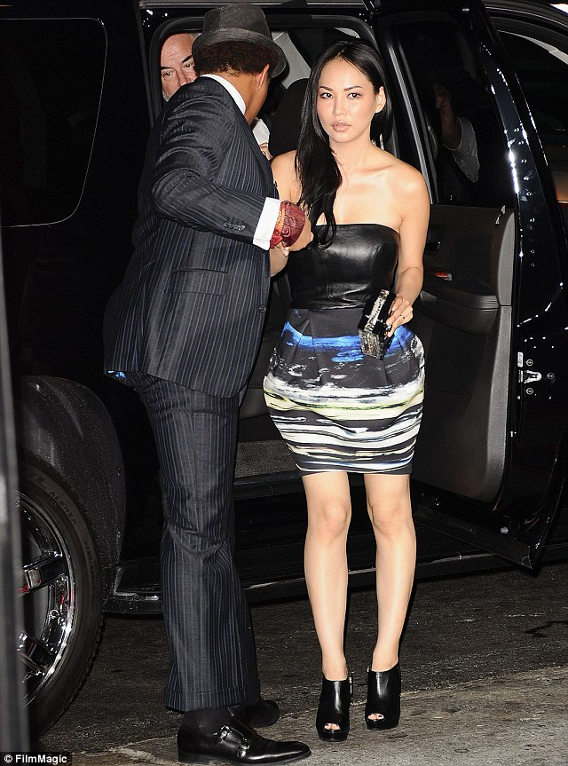 Here comes the bride? The Canadian by the name of Miranda, right, and Terrence were seen wearing wedding bands to the premiere of The Best Man Holiday in Los Angeles, California on November 5