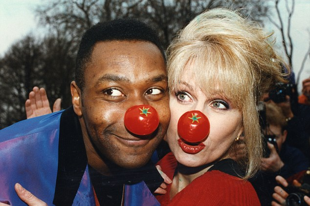 Image result for red nose day lenny henry