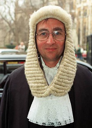 Arguments: Judge Richard Sheldon heard Mr Robson left his sons just £135