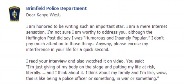 Kanye West Is Subject Of Hilarious Open Letter From Ohio