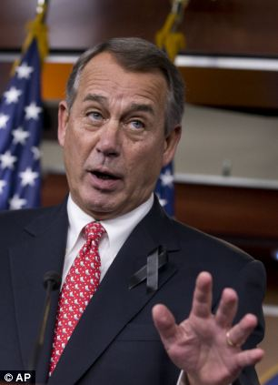 House Speaker John Boehner fanned the flames of a civil war inside the GOP by slamming conservative groups that opposed the budget deal -- but it could all be for nought if his Senate colleagues decide to kill it