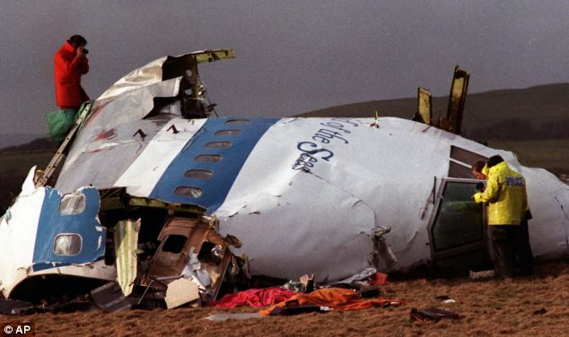 Horrific: Pan Am Flight 103 exploded over Lockerbie, Scotland, on December 22, 1988 - killing 270 people