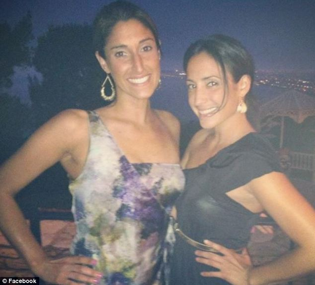Stunning: He called D'Agostino, pictured left with a friend, 'not only beautiful but kind hearted'