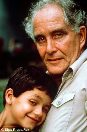 Biggs, pictured with his son Michael in 1981, the same year the Great Train Robber was kidnapped in Rio by a gang of adventurers