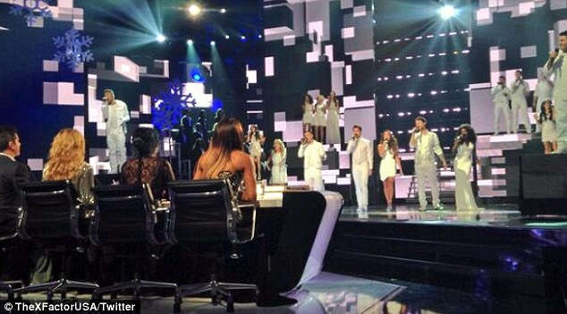 Lucky 13: The final 13 contestants on The X Factor were back for the finale
