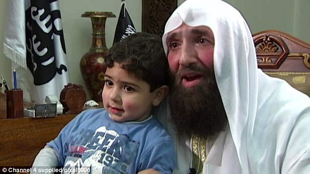 'Proud': Omar Bakri Muhammad said if his son grew up and did what Adebolajo did he would be 'happy'