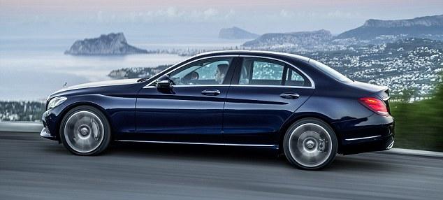 High-tech feast: Mercedes-Benz's latest C-class compact saloon