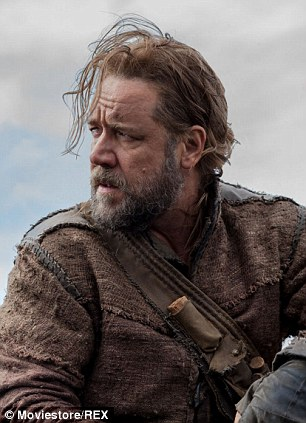 Rssell Crowe as Noah which will be released in March 2014
