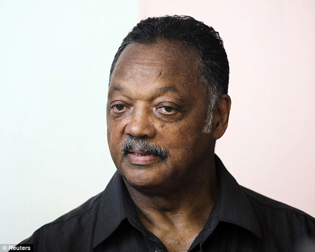 Disgusted: Reverent Jesse Jackson said Robertson's comments make him worse than the bus driver who infamously sent Rosa Parks to the back of the bus