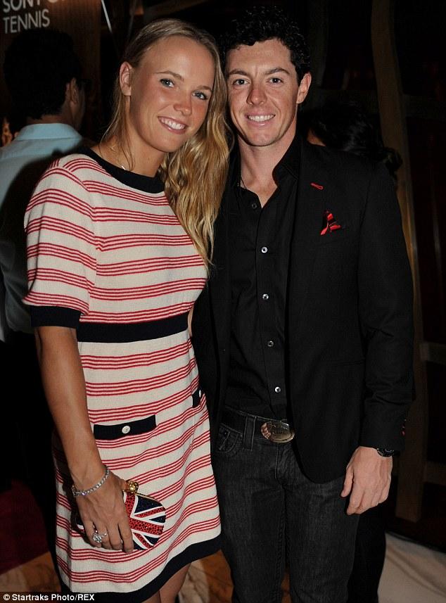 Rory McIlroy and girlfriend Caroline Wozniacki announce ...