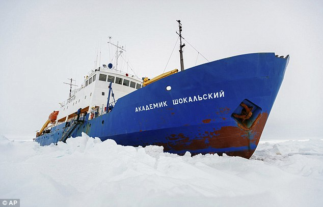 Ship: The rescue operation for the 74 passengers, comprising scientists, tourists and crew on the Russian ship MV Akademik Shokalskiy, has been plagued by one delay after another since the vessel became stuck