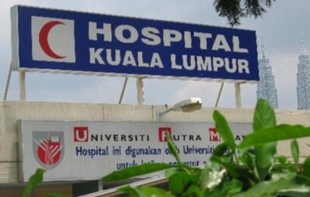 Medical check-up: Doctors at Kuala Lumpur discovered the five-year-old girl had been sexually penetrated by the boy in a case which has shocked Malaysia