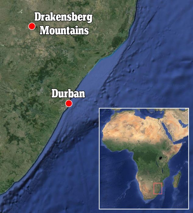 New research done on the Drakensberg mountains in South Africa debunks previous suggestions that cold temperatures played a dominate role in mountain formation