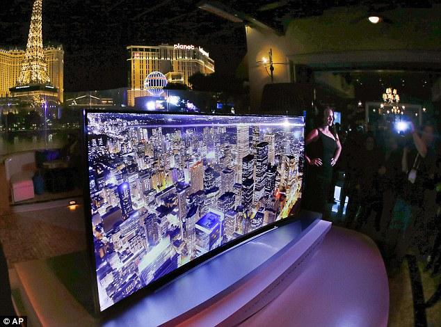 Side Tv Screen Flat Samsung