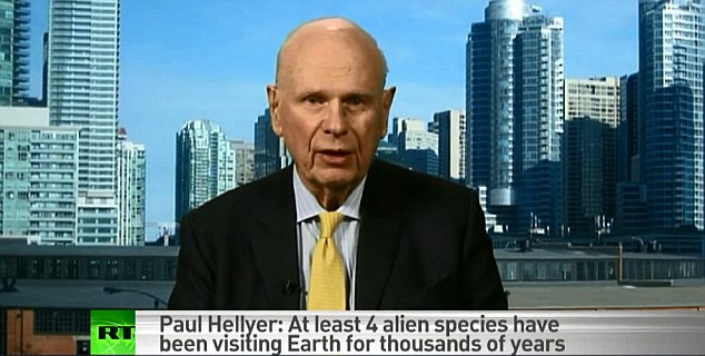 According to Paul Hellyer, who was a Liberal defense minister from 1963 to 1967 under prime minister Lester B. Pearson, there are 80 different species of extra-terrestrials