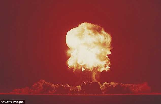 Hellyer said there has been a lot more activity with aliens in the last few decades since we invented the atomic bomb