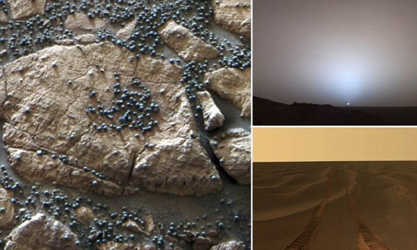 'Blueberries' on Mars! Stunning images of the red planet ...