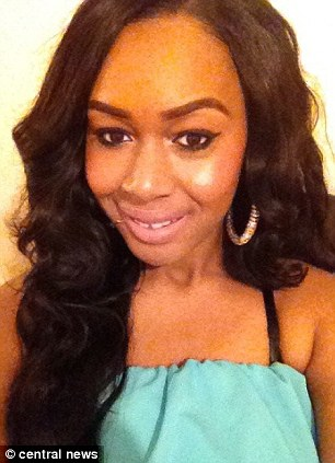 Victim: Naomi Oni before the attack in December 2012, which left her with life-changing injuries
