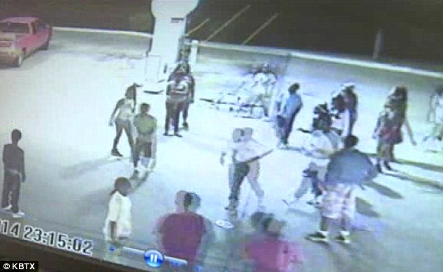 Mass: The 30 to 40 teenagers said they had been at a teen night at Club Nice across the street before they ransacked the store