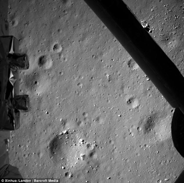A photo from 99m above the Moon: Peter Bond, consultant editor for Jane's Space Systems and Industry, said at the time that it's still a significant technological challenge to land on another world