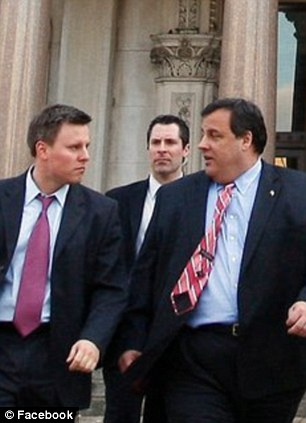 Bill Stepien -(left of Chris Christie)