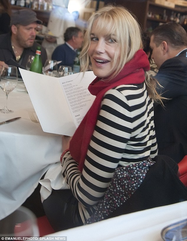 Daryl Hannah in Rome January 2014