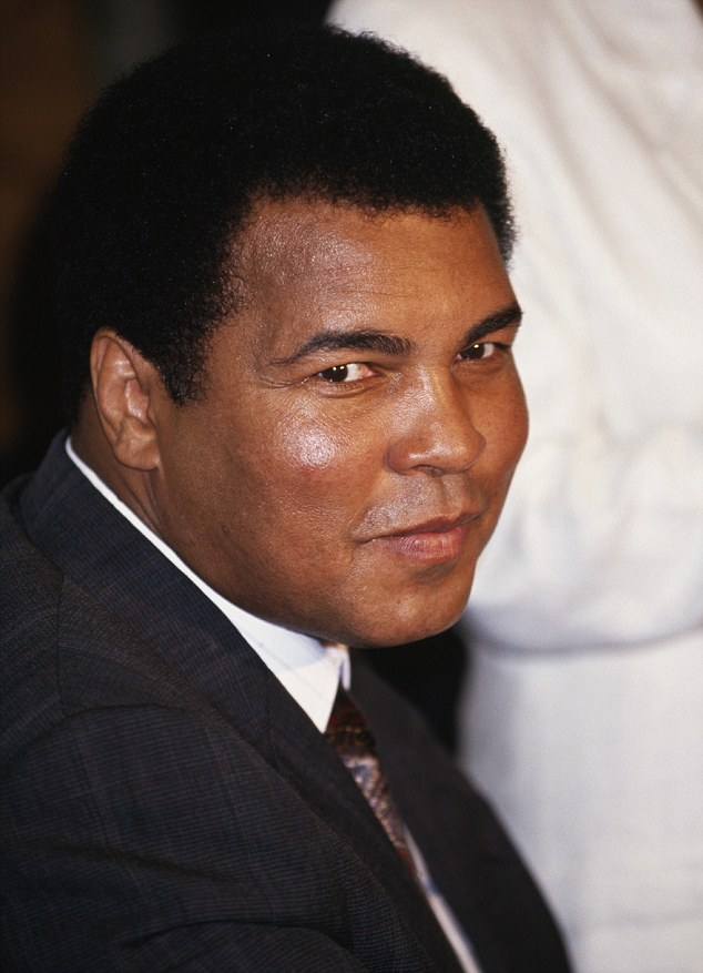 Boxing champ Muhammad Ali, pictured here in 1991, hopes his car will go on to 'help mankind'