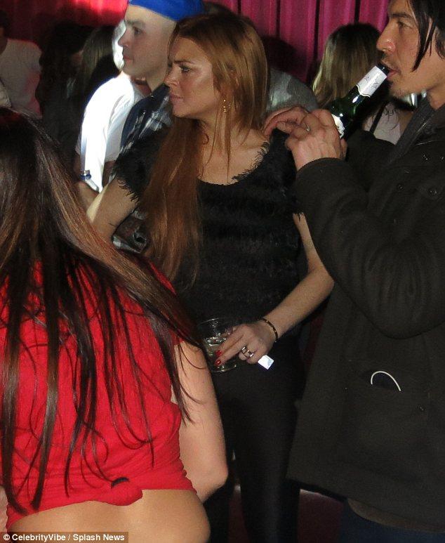 LiLo clubbing at Sundance