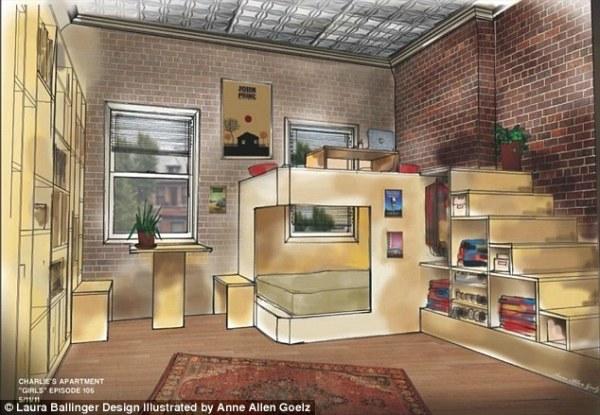 Girls apartment floor plans revealed by HBO set designer ...