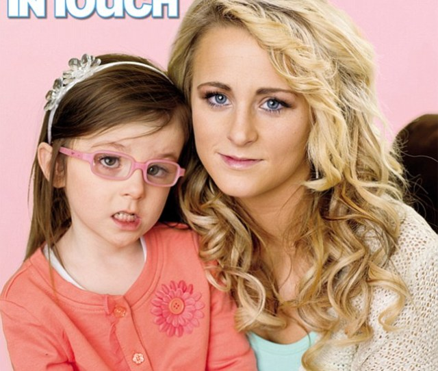 Devastating Diagnosis Leah Messer Has Revealed That Her Four Year Old Daughter Aliannah
