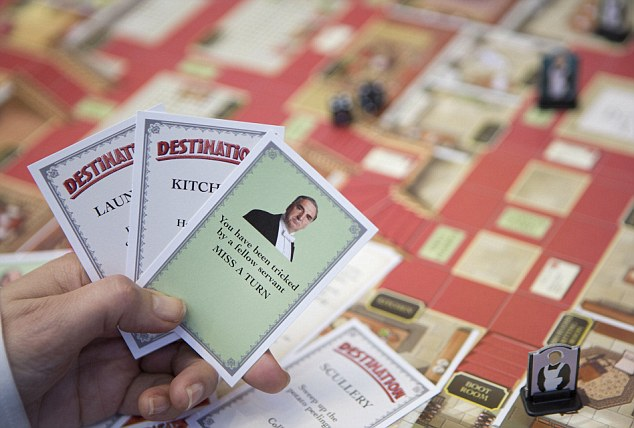 Beware the Carson! This card can either help or hinder a player as they navigate the board