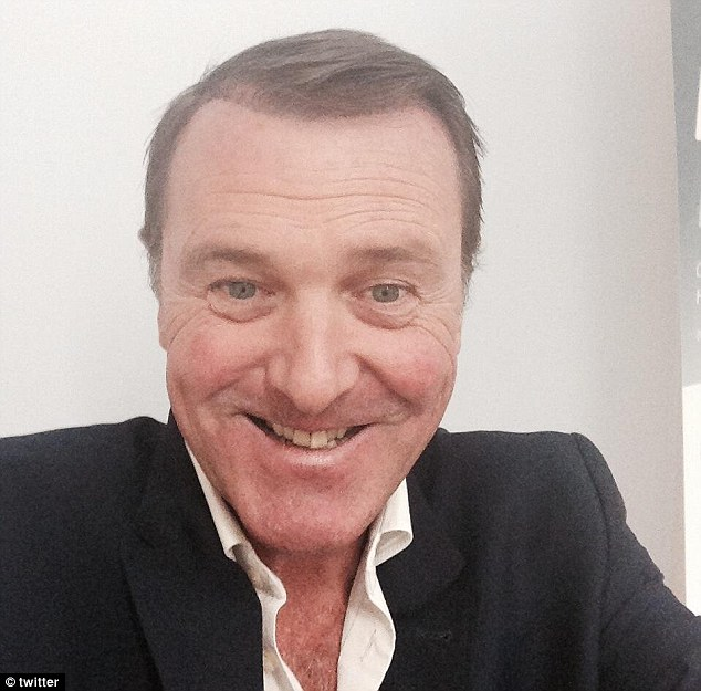 Proud Phil Tufnell Shows Off The Results Of His Hair Restoration Treatment