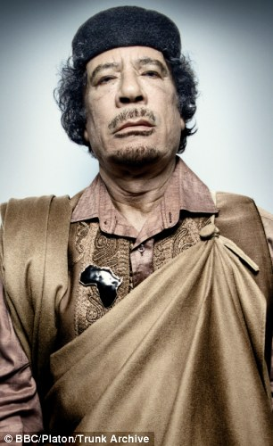 'Sexual deviant': Colonel Gaddafi kept hundreds of girls as sex slaves during his years at the helm of Libya, but also kept a 'harem' of young boys
