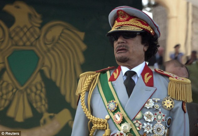 Ultimate terror: When a girl had been 'selected', Gaddafi's guards would kidnap her from her family, take her to the dungeon, where she would be stripped, checked for STDs, shaved of all but her pubic hair, plastered in makeup and sent in to Gaddafi, a witness has said