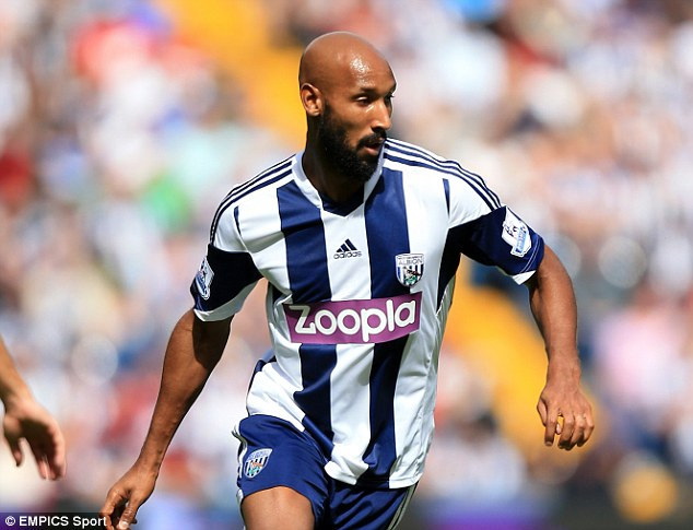 Veteran star: Anelka was linked with a January move to Serie A club Lazio in the wake of the row
