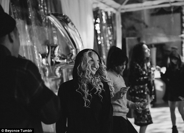 Kicking back: The Green Light singer has revealed the family's party lifestyle backstage and on the road