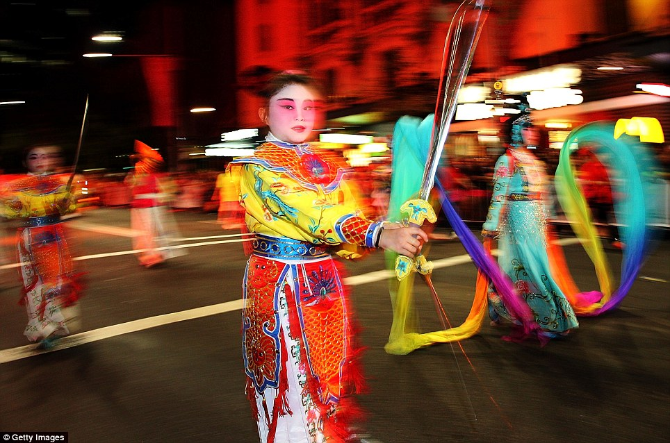 Sydney celebrations: The lunar celebrations in Sydney are the largest outside of Asia