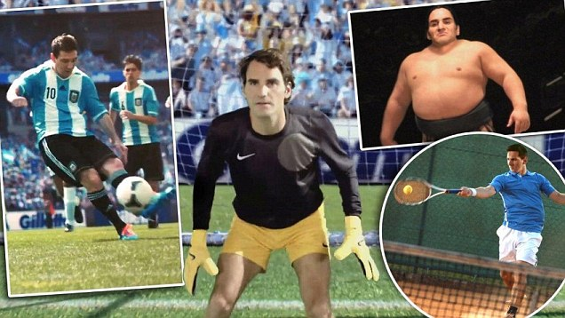 Image result for messi federer advert