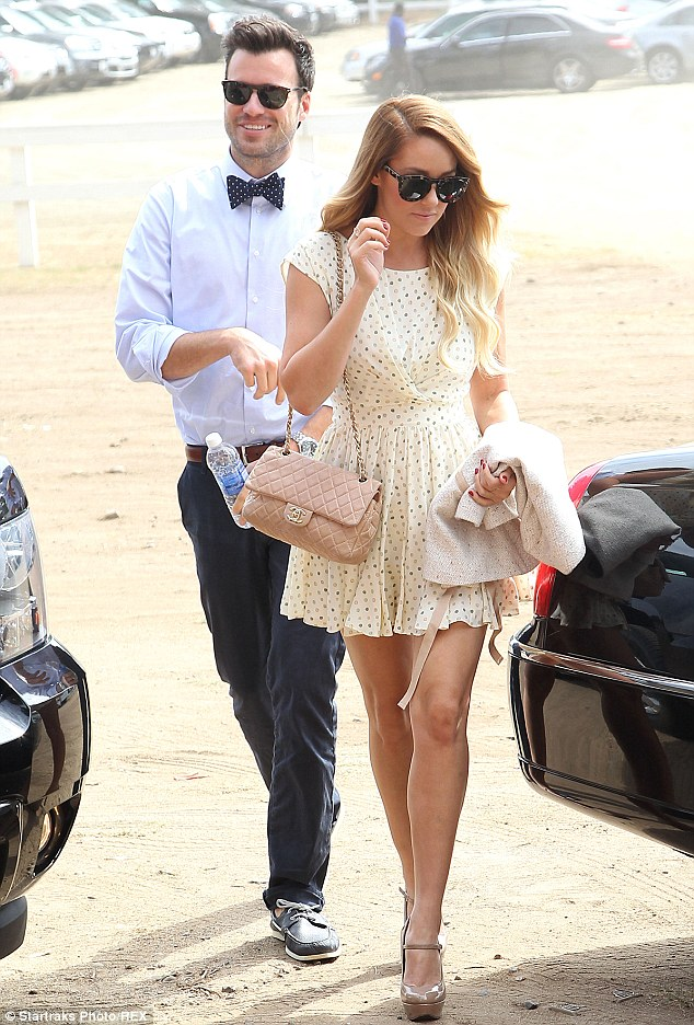 Lauren Conrad Throws Country And Western Party For Herself