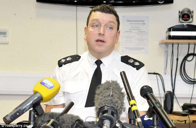 'Horrific': Chief Inspector Chris Bithell briefs the media on the progress of the investigation