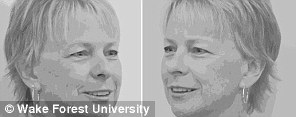Photos showing the left sides of faces were rated more 'pleasant' than those showing right sides, in both sets of photos