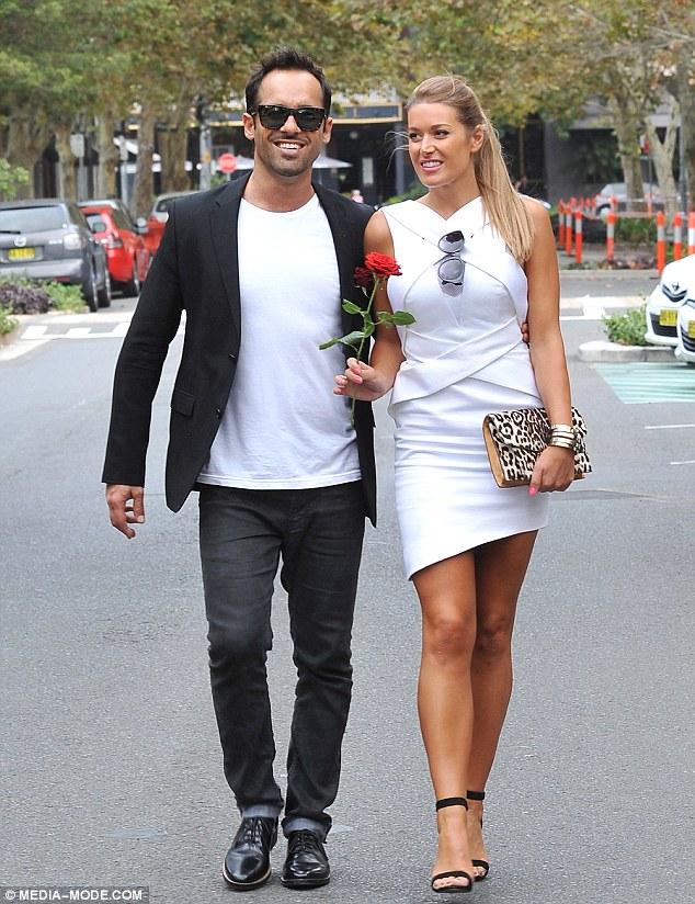 Alex Dimitriades Gets Romantic With Girlfriend Anja Lake